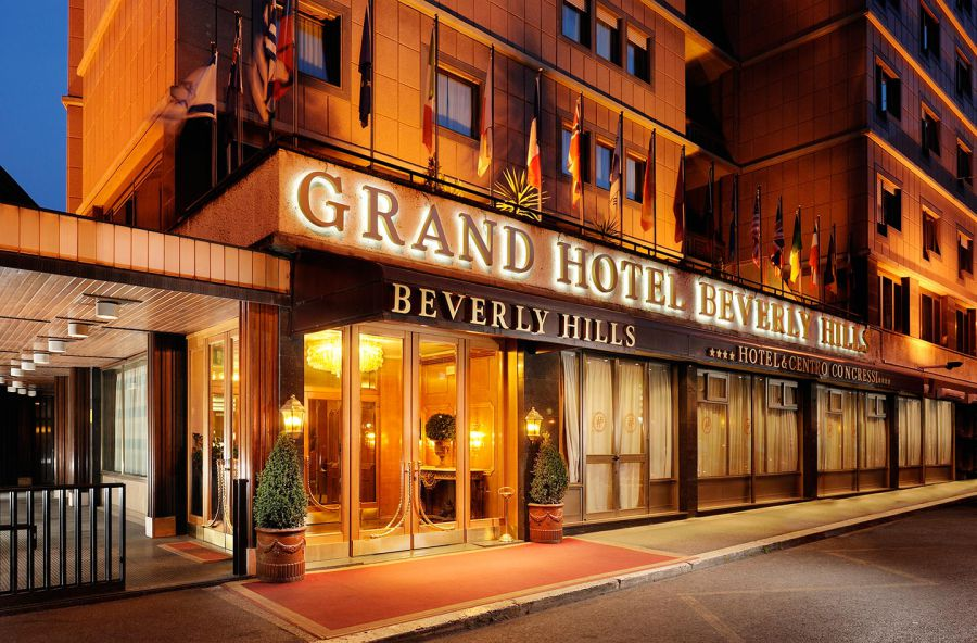 Grand Hotel Beverly Hills a Roma foto 1